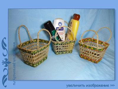 сумка плетеная из сыти